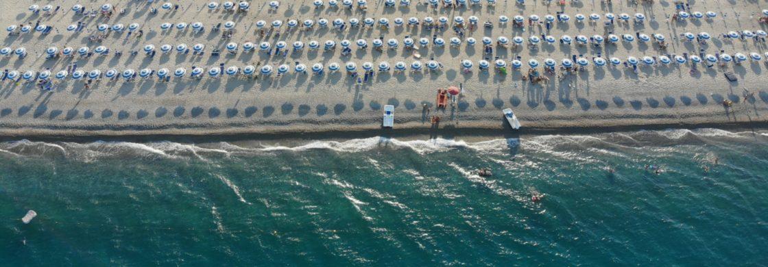 spiaggia calabria lido solesi