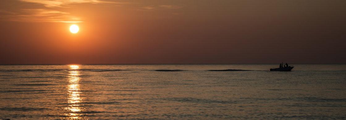 tramonto mare calabria vacanza slow